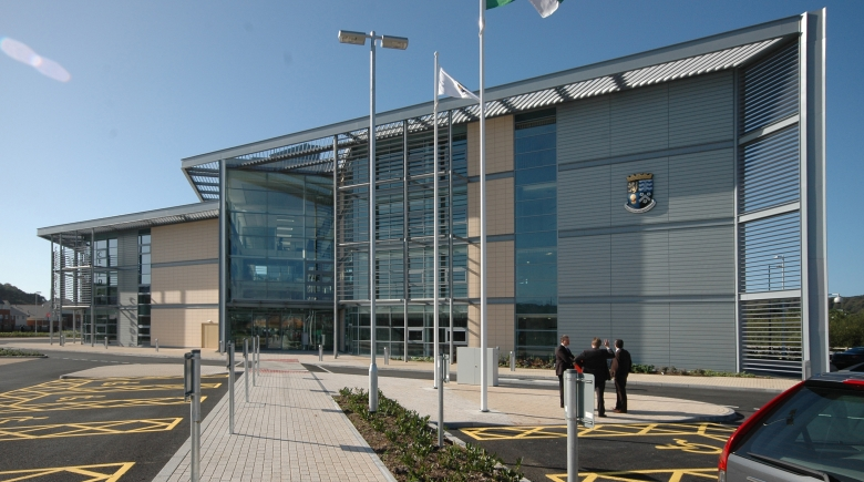 Offices for Ceredigion County Council, Aberystwyth: highest scoring BREEAM Excellent office project in Wales 2010