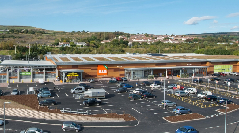 B&Q 'Eco Learning Store', Merthyr Tydfil: CEW Sustainability Award 2016